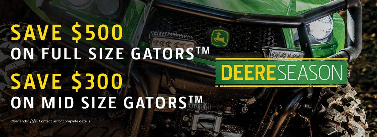 Full Size Gator Discount
