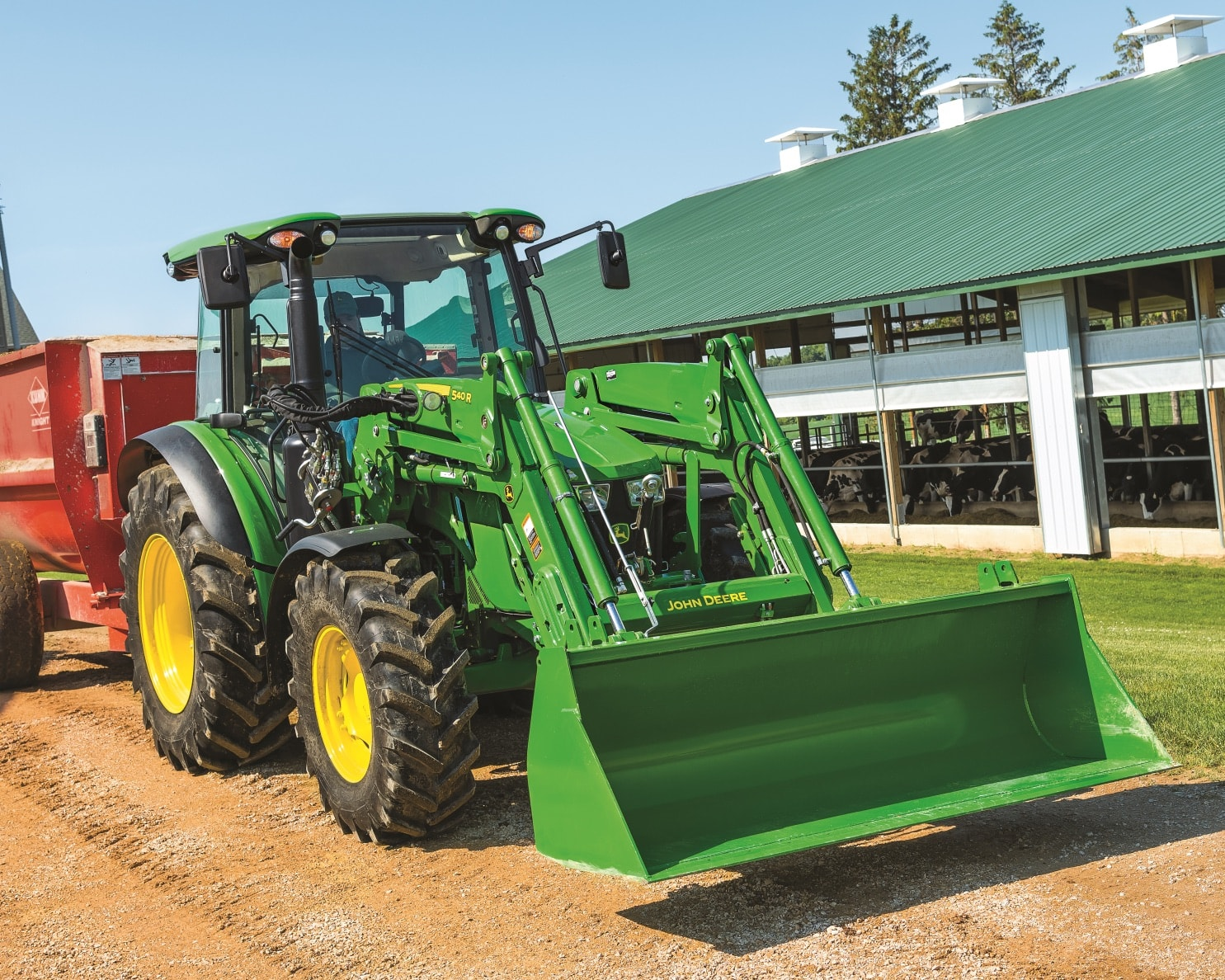 5R Series Utility Tractors