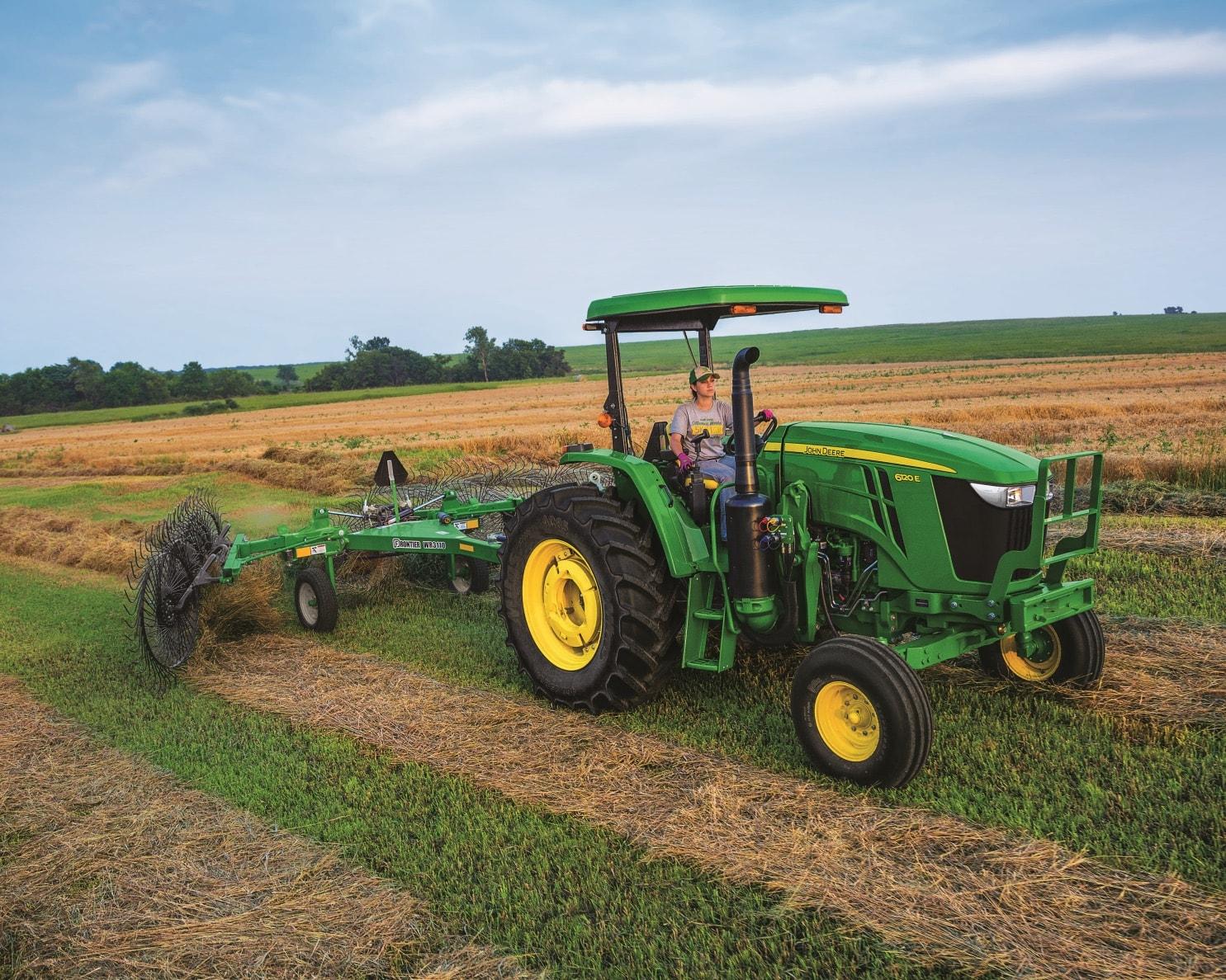 6E Series Utility Tractors