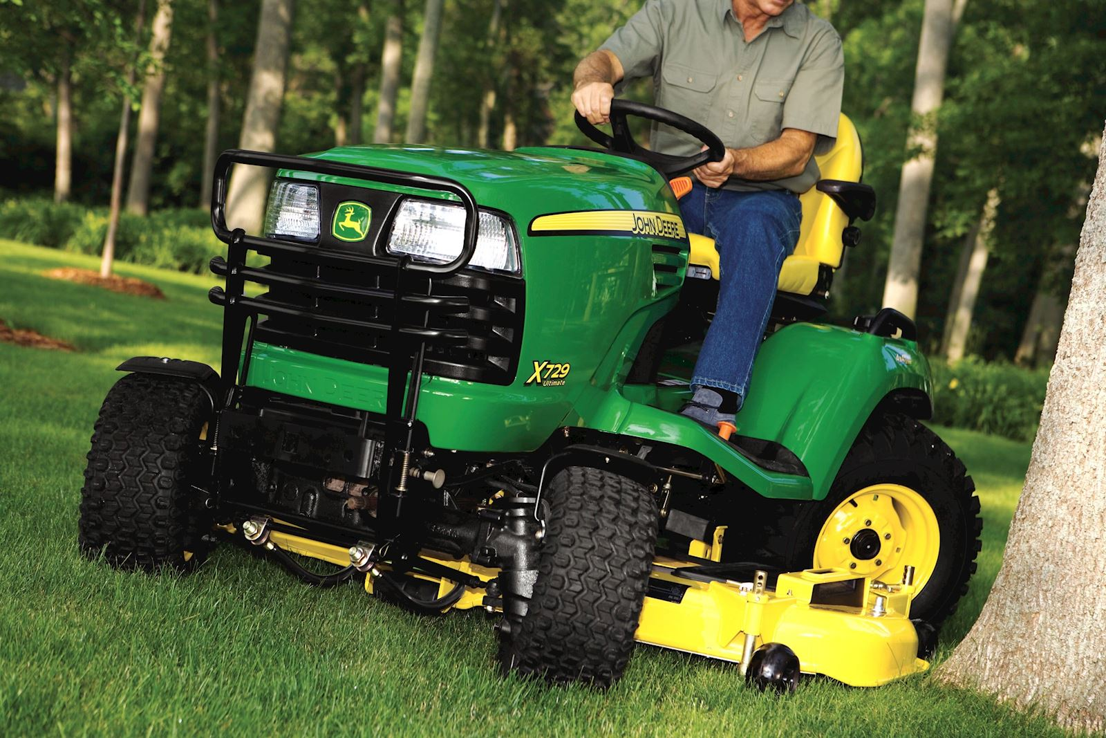 Riding Lawn Mowers and Equipment