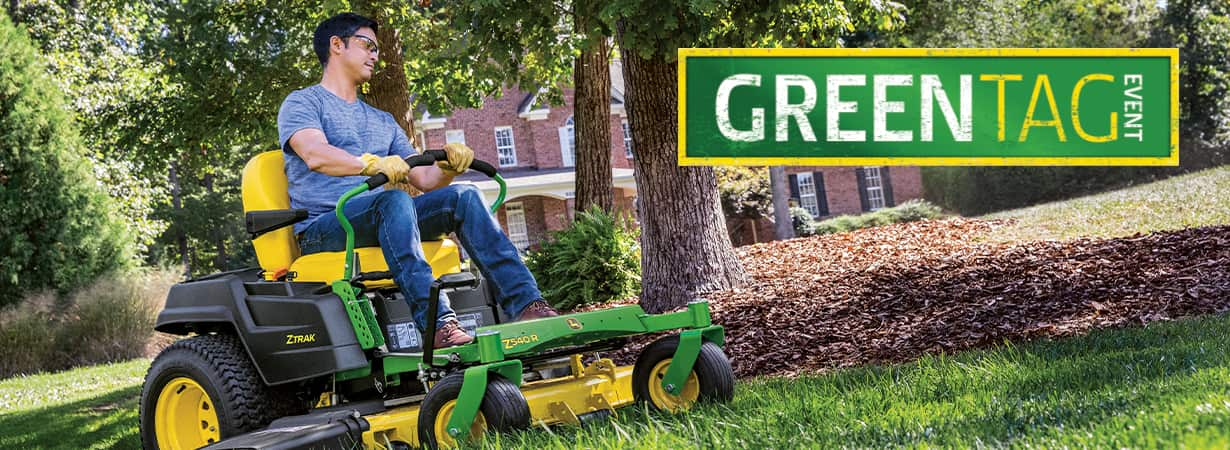 John Deere Z500 Zero Turn Mowers from Meade Tractor