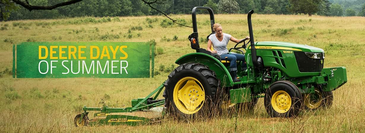 John Deere 5E Series Tractors sale