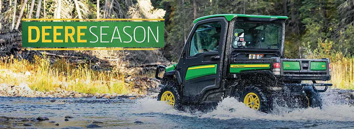 The John Deere Gator