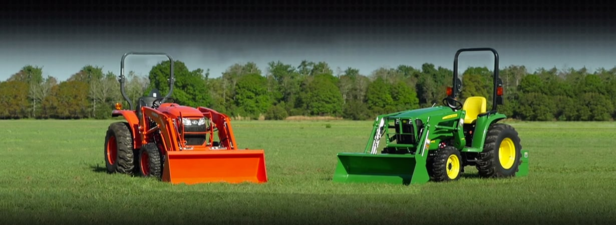 John Deere Tractor Comparisons