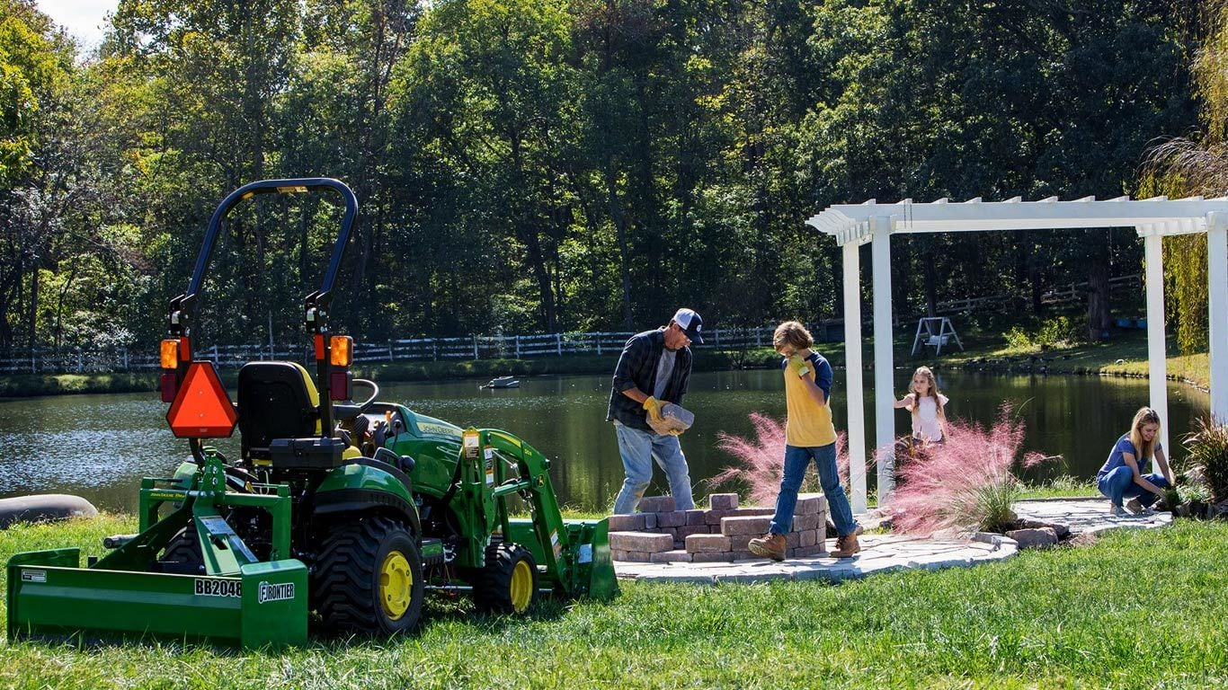 Weekend Warrior 1023e Tractor Package