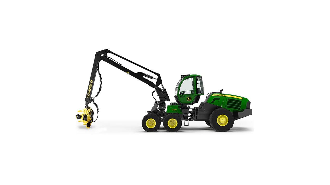 1070G Wheeled Harvester