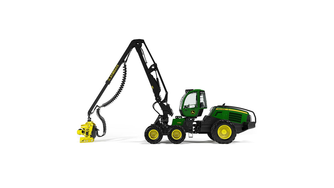 1170G Wheeled Harvester