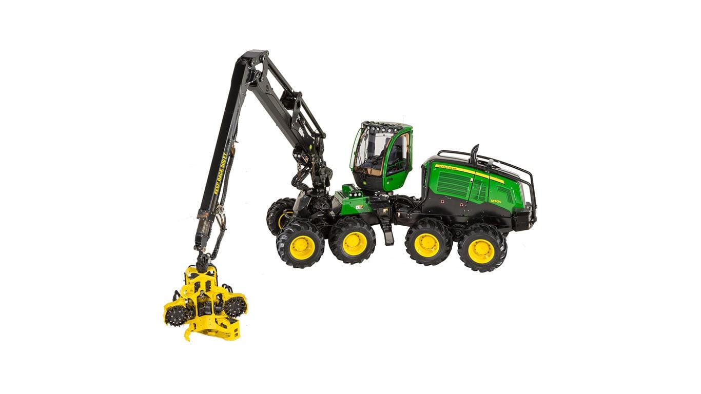 1270G 8W Wheeled Harvester