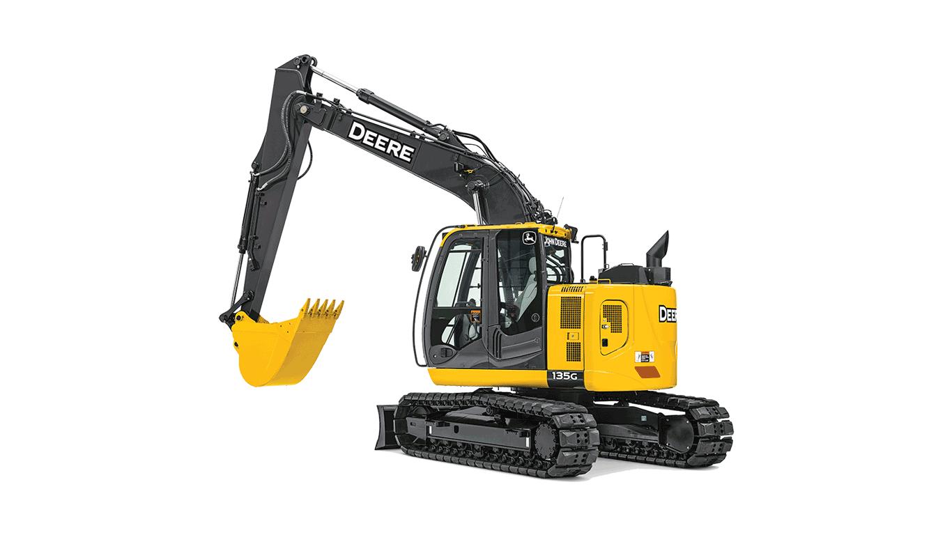 135G Excavator
