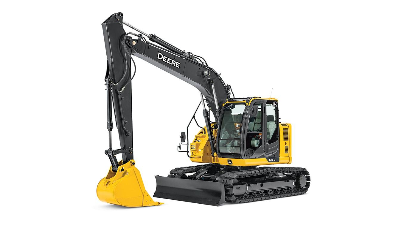 135G Mid-Size Excavator