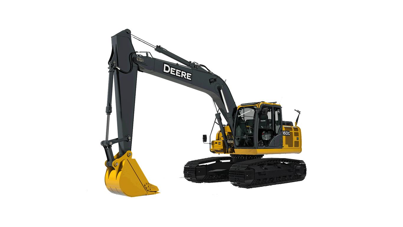 160G LC Mid-Size Excavator