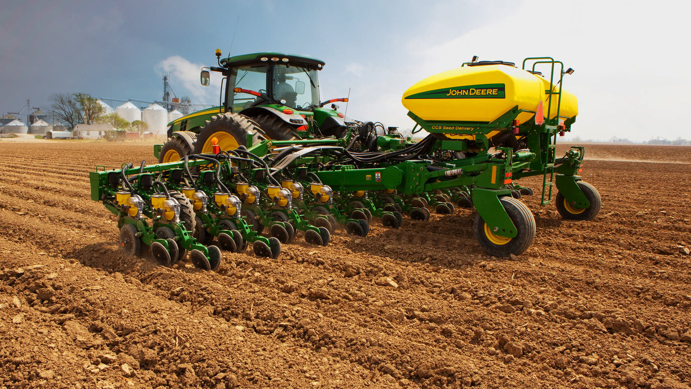 New 1725 CCS Twin Row Planter