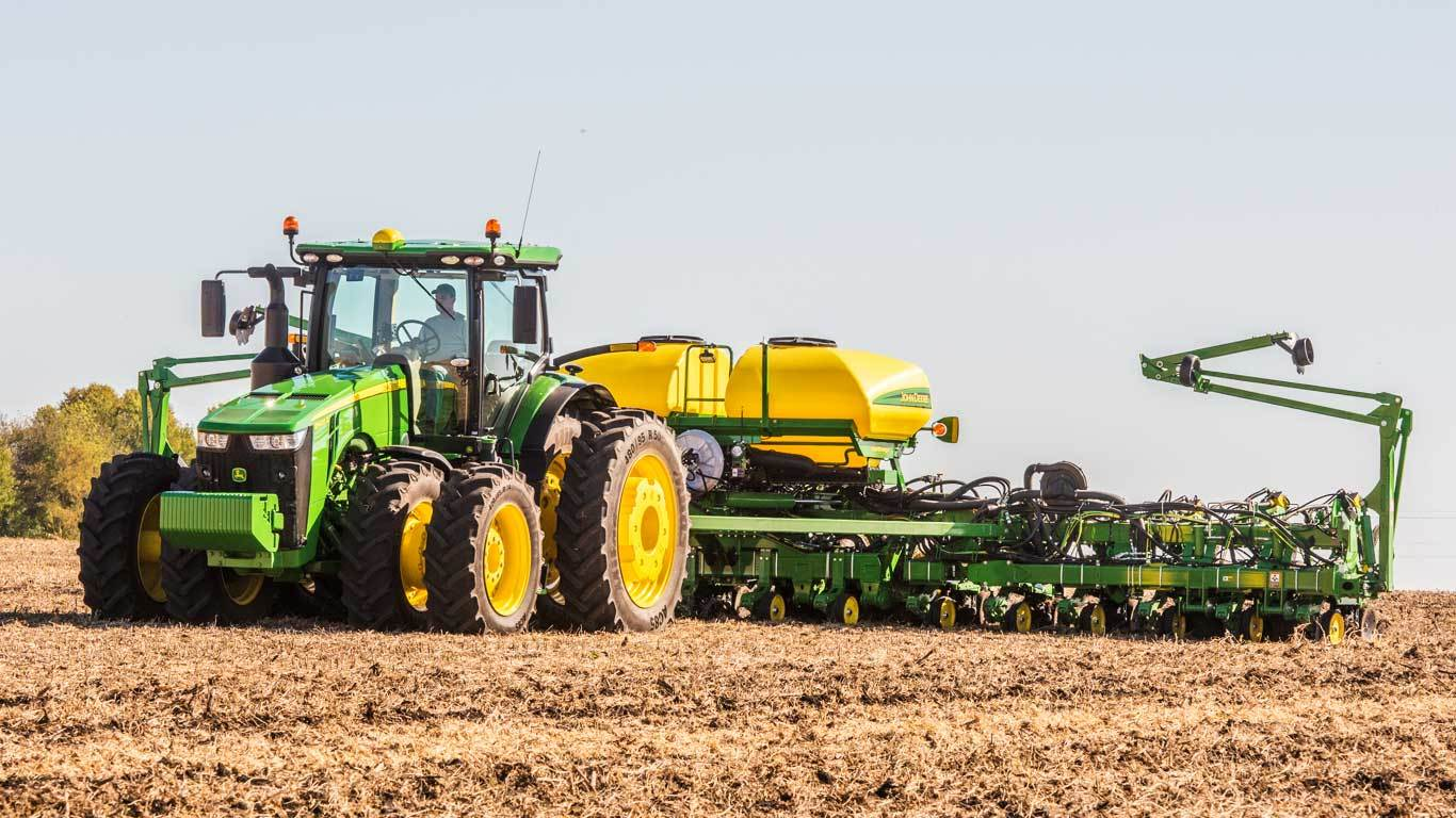 John Deere Tractor Split : Row split or planter new planters valley