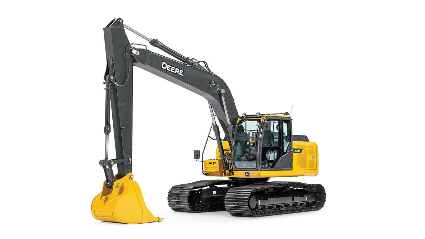 200G Mid-Size Excavator