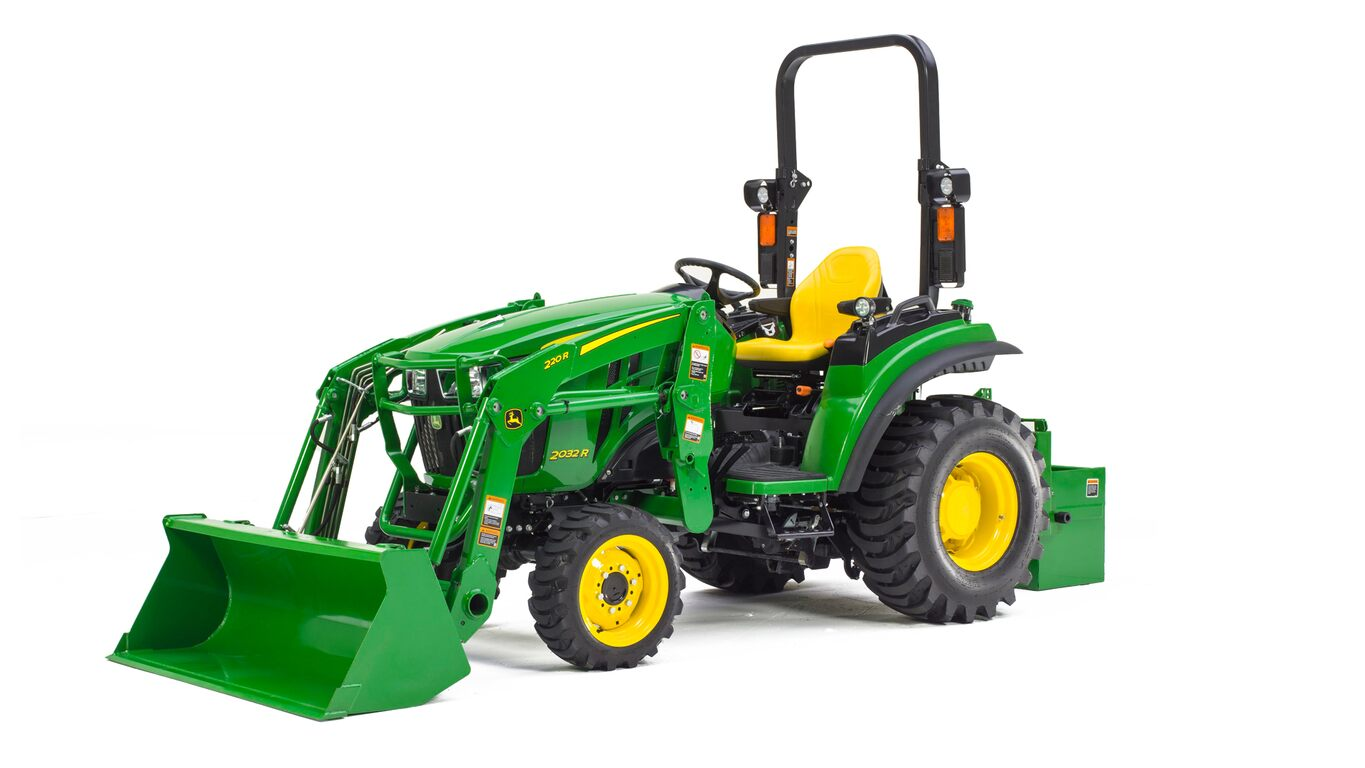 John Deere Tractor Lift Problems : R compact utility tractor new