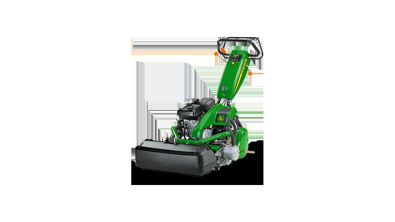 220 E-Cut™ Hybrid Walk Greens Mower