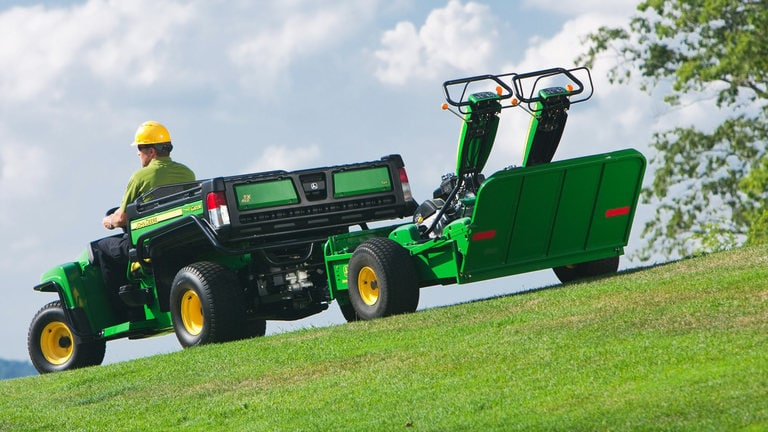 22B Walk Greens Mower Trailer