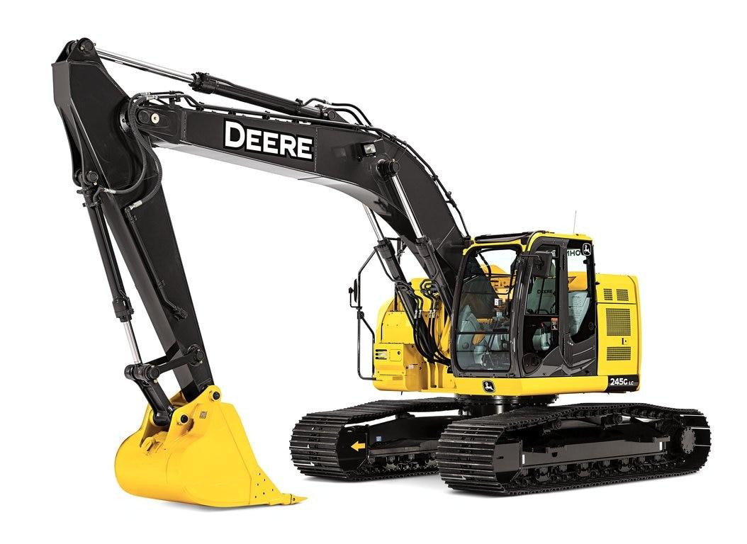 John Deere 245 Excavator Specs : G lc excavator new compact excavators riesterer