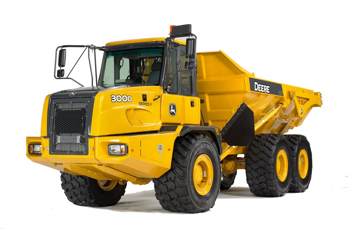 300D-II Articulated Dump Truck