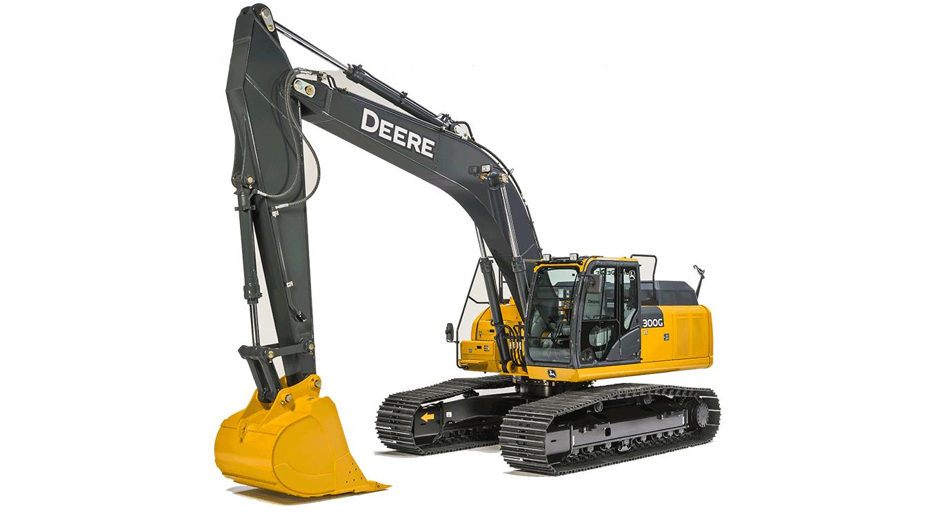 300G LC Mid-Size Excavator