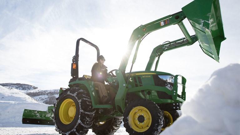 E Compact Utility Tractor Thumb