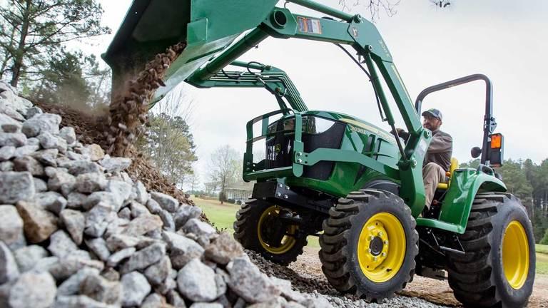 3038E Tractor & Loader