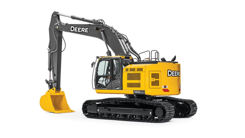 345G LC Mid-Size Excavator