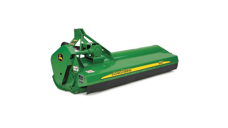 390 Offset Flail Mower