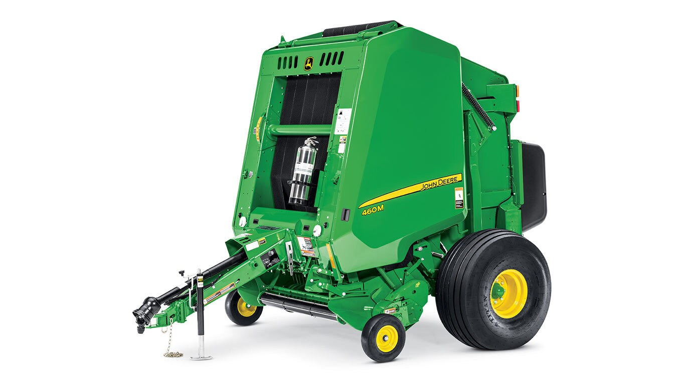 460m Round Baler New Balers United Ag And Turf Better Built Trailer Wiring Diagram