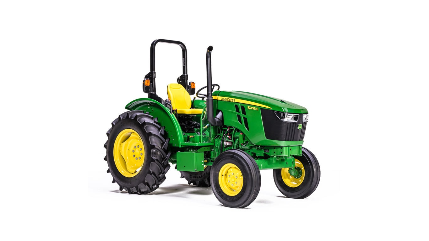 5055E Utility Tractor - New 5-Family (45-125HP) - Green