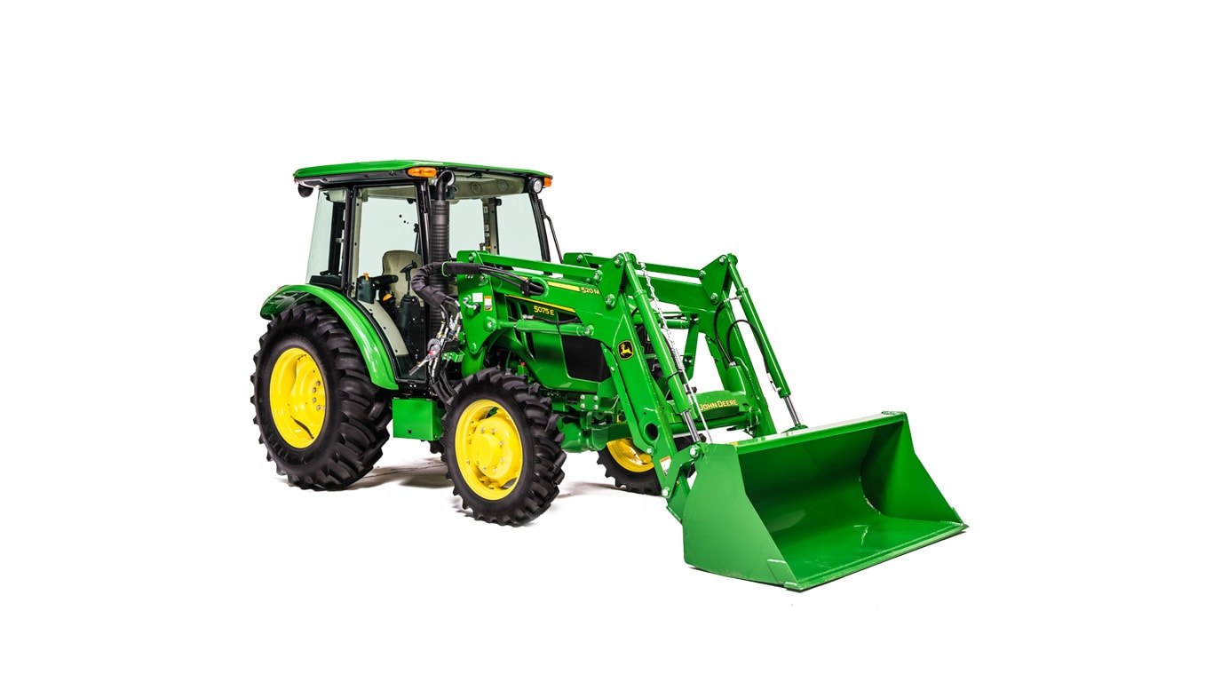 5075E Utility Tractor - New 5 Series Utility Tractors (45 ...