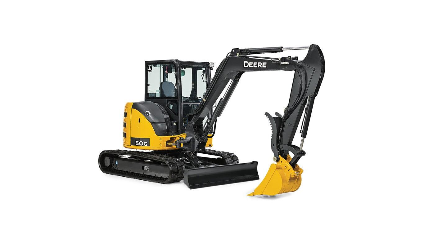 50G Compact Excavator