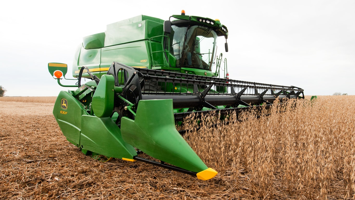 Parts Of A John Deere Combine Harvester Diagram : F hydraflex™ cutting platform new combines heads