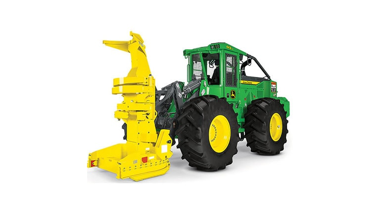643L-II Wheeled Feller Buncher