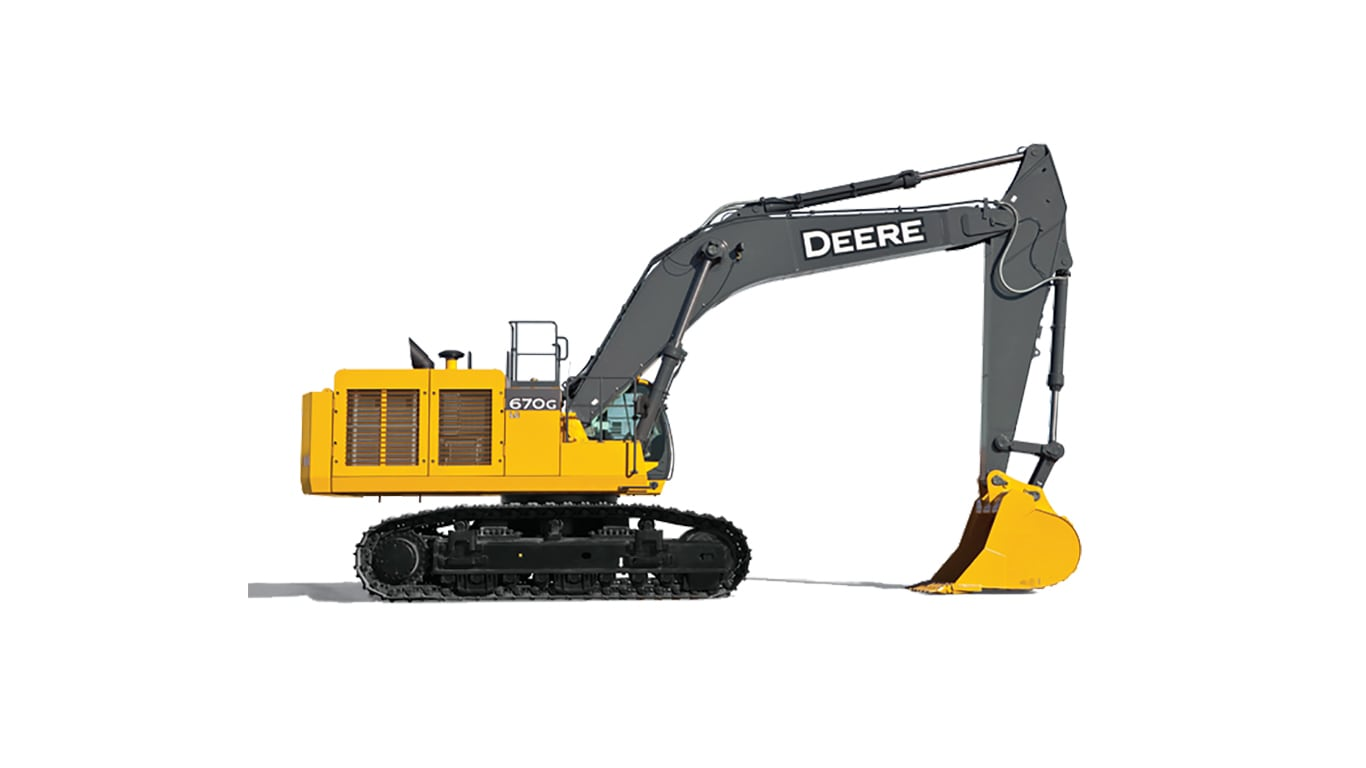 670G LC Large Excavator
