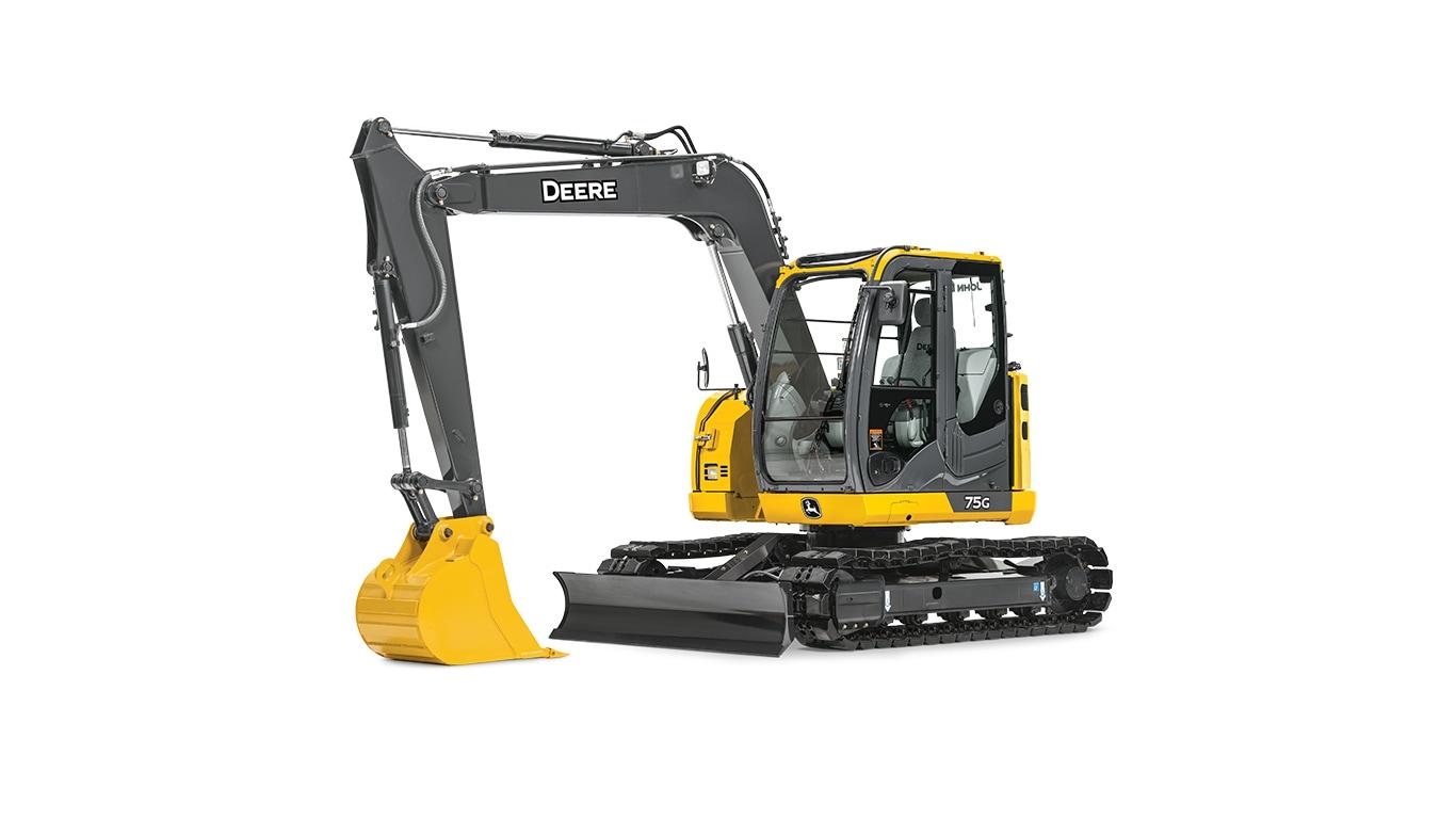 75G Mid-Size Excavator