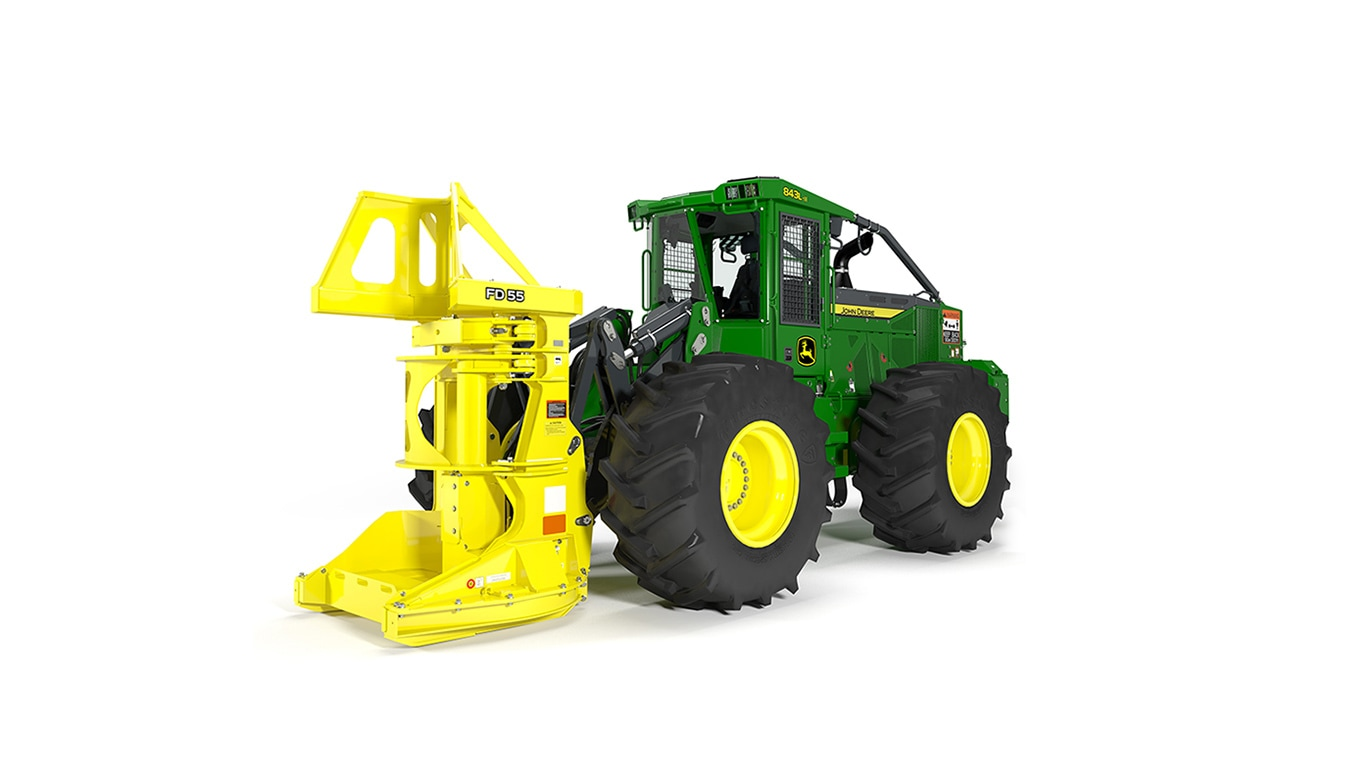 843L-II Wheeled Feller Buncher