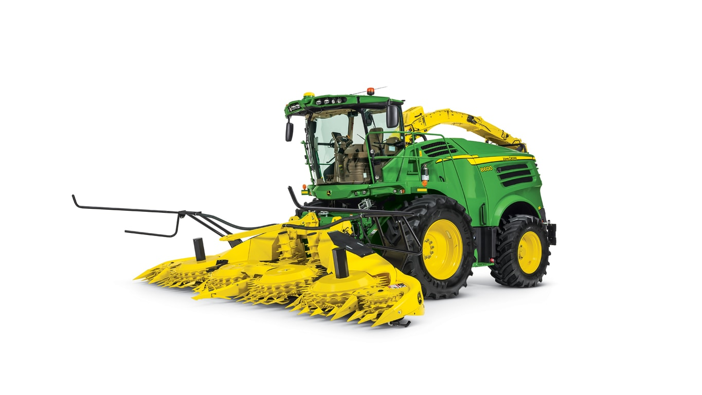 8600 Self-Propelled Forage Harvester - New 8000 Series Self