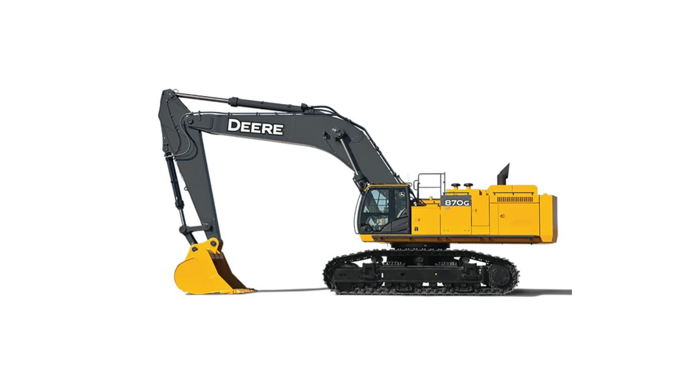 870G LC Large Excavator