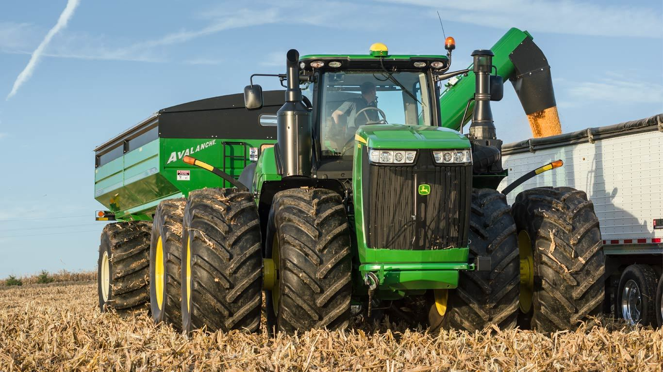 9470R Tractor - New 9 Family 4WD & Track Tractors - Clark