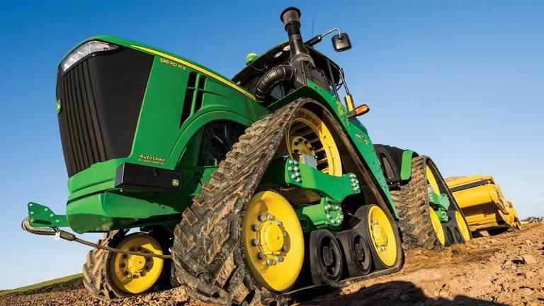 9570RX 4-Track Scraper Special