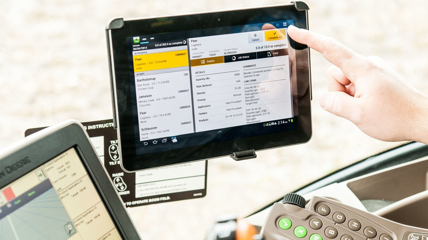 AgLogic™ - New Information Management - Ritchie Tractor
