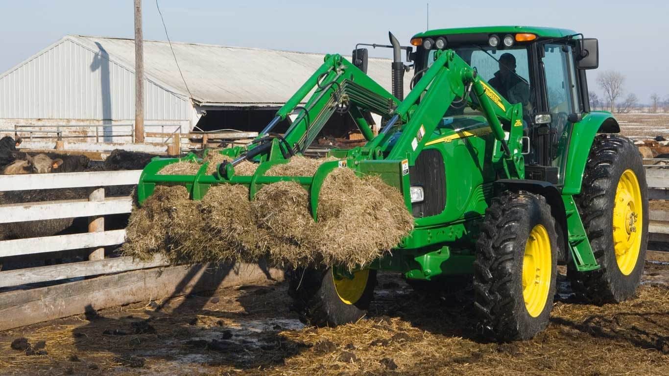 AM11 Series Manure Fork with Grapple