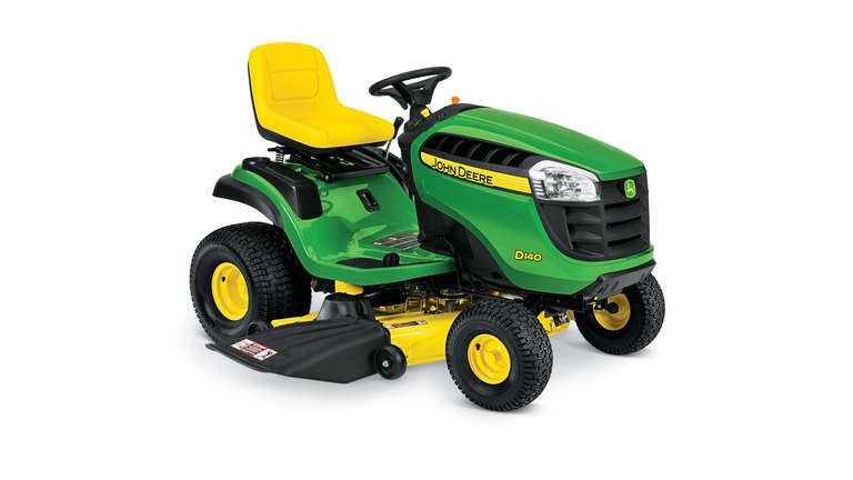 $100 OFF ALL REMAINING D100 SERIES MOWERS