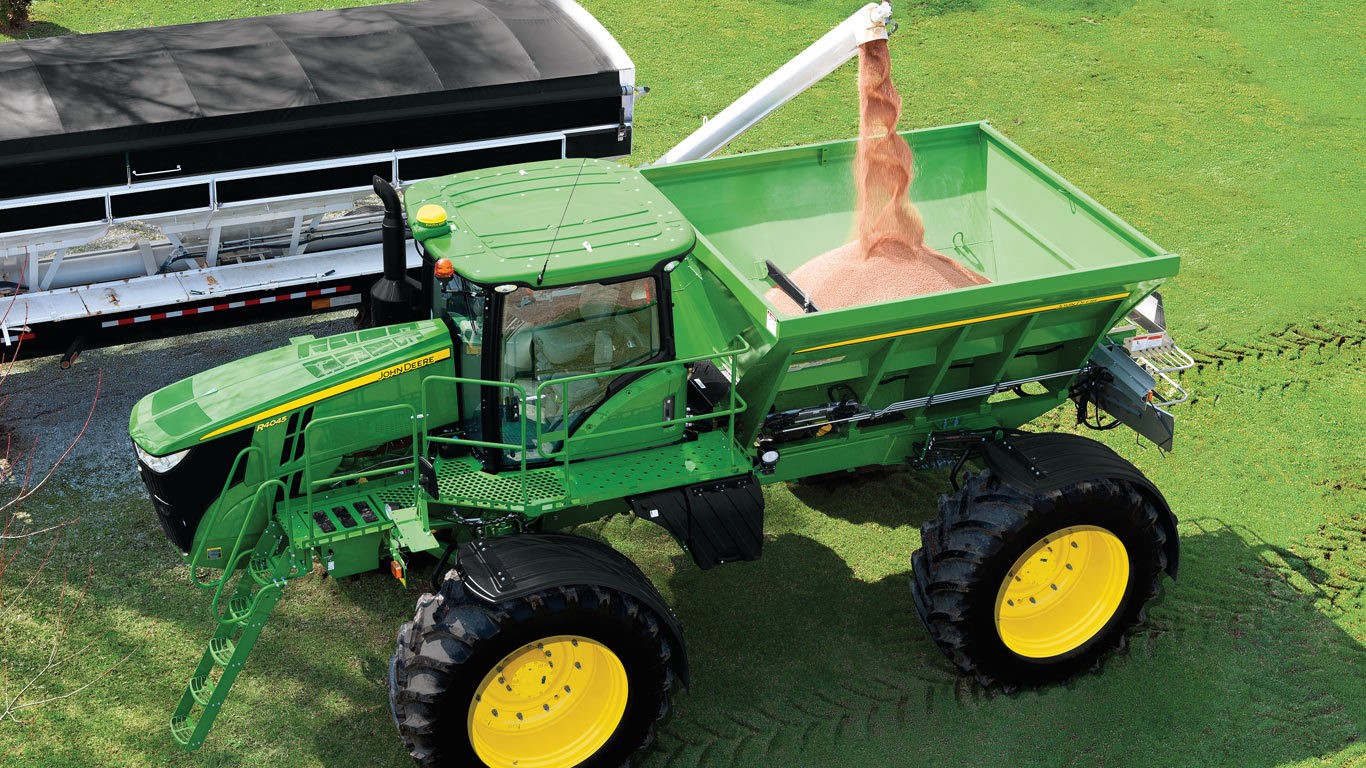 DN485 New Leader Dry Spinner Spreader