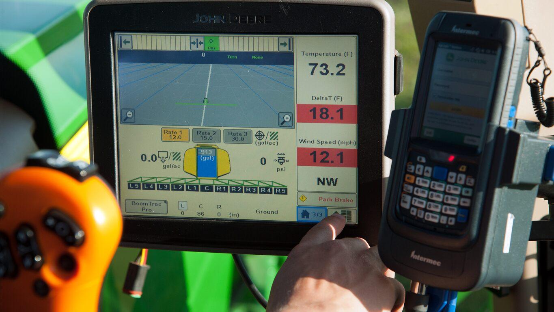 John Deere Mobile Weather - New Precision Ag - Kibble Equipment