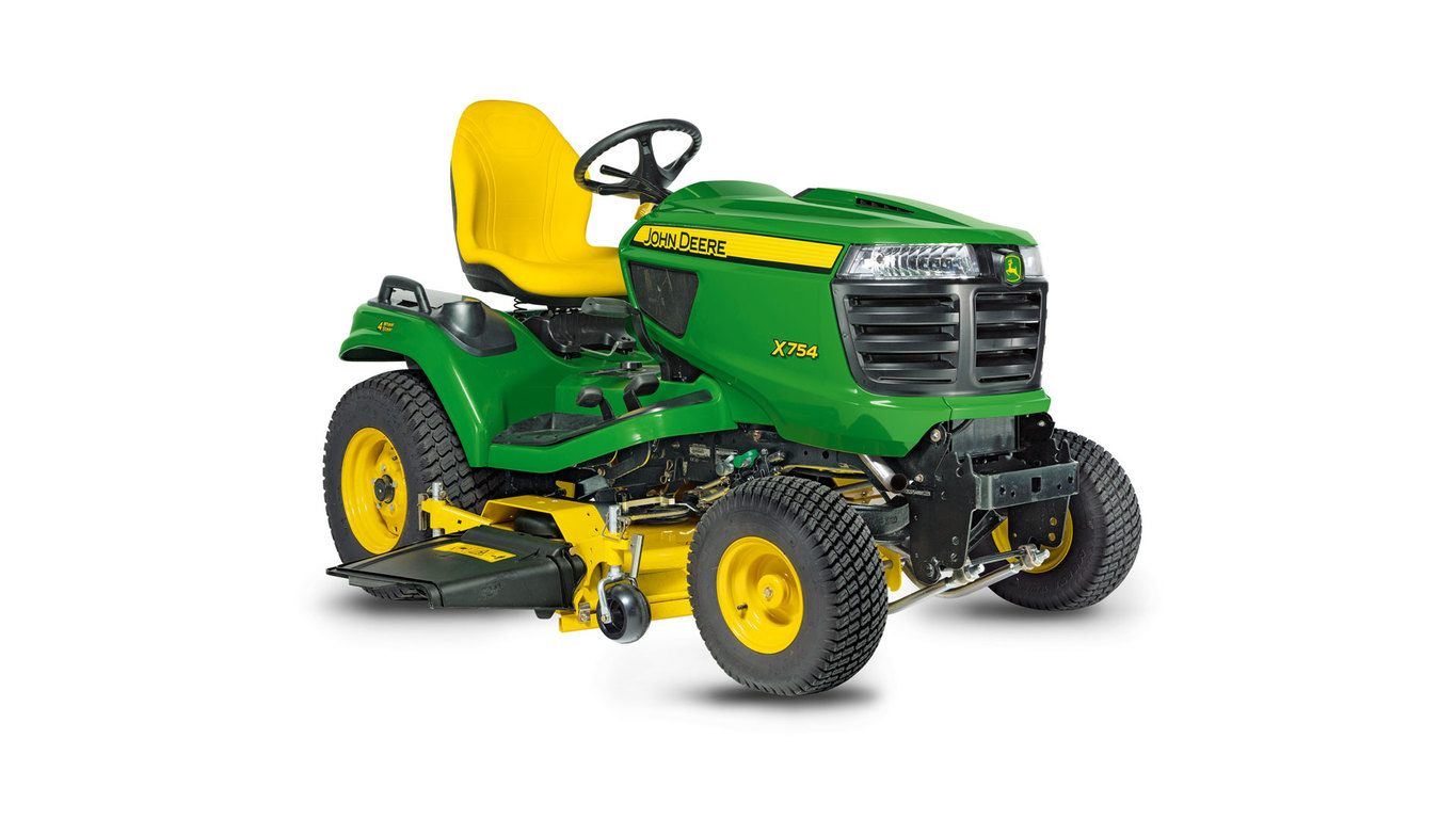 New Model Year 2018 X754 Signature Series Lawn Tractor