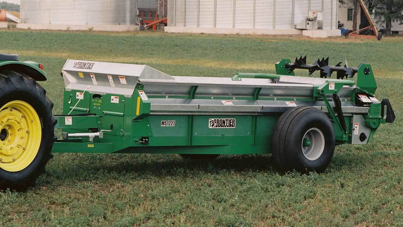 MS12 Series Large Chain-Unloading Manure Spreaders