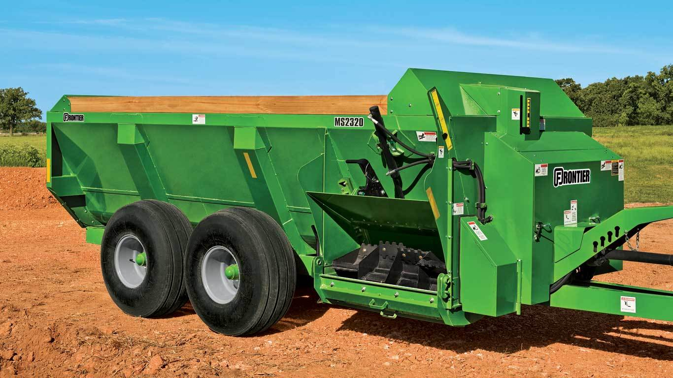 MS23 Series Side-Discharge Manure Spreaders