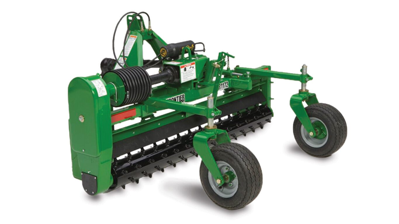 John Deere Attachments Product : Pr series power rakes new landscape tractor
